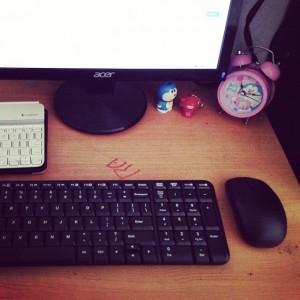 Meja Kerja Nobita — setelah Doraemon pergi :D
