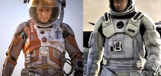 The Martian dan Interstellar
